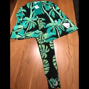 LuLaRoe Medium Caroline/Med Classic/TC Leggings